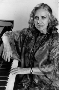 Jane Jarvis, jazz pianist.